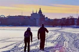 ins上的冬季赫爾辛基